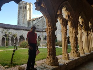 Doron in cloister