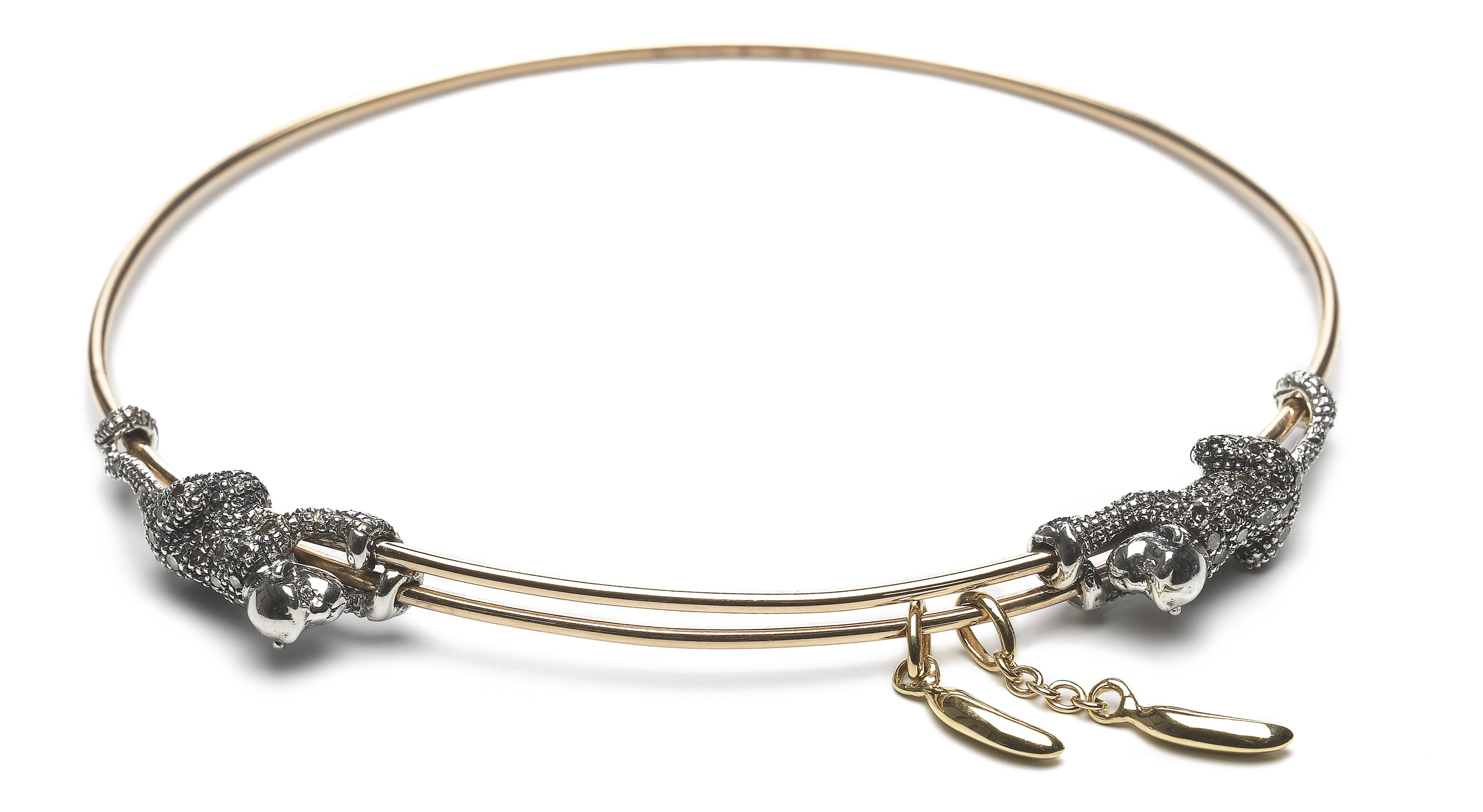 animal-collection-monkey-and-banana-bracelet-18ct-rose-gold-sterling-silver-and-brown-diamonds