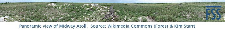 Midway Island panorama