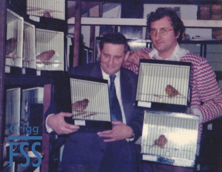 Derek Dix & Ken Grigg cinnamon canaries