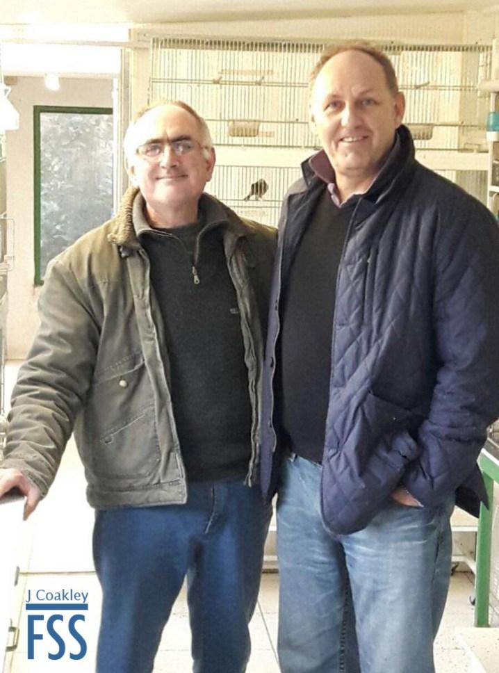 Vincent Coquet and Joe Coakley