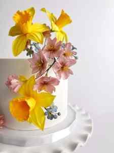 Finished Sugar Flower Arrangement