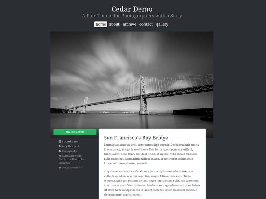 cedar-wordpress-theme