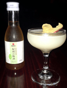 Umeshu cocktail