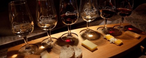 Ice wine food pairing