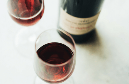 Sweet red wine