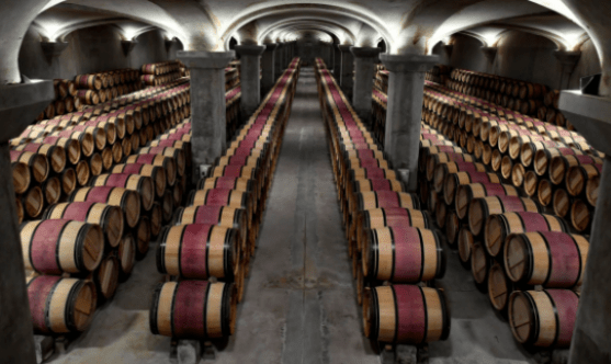 Wine investment barrels