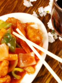 Chinese food and wine