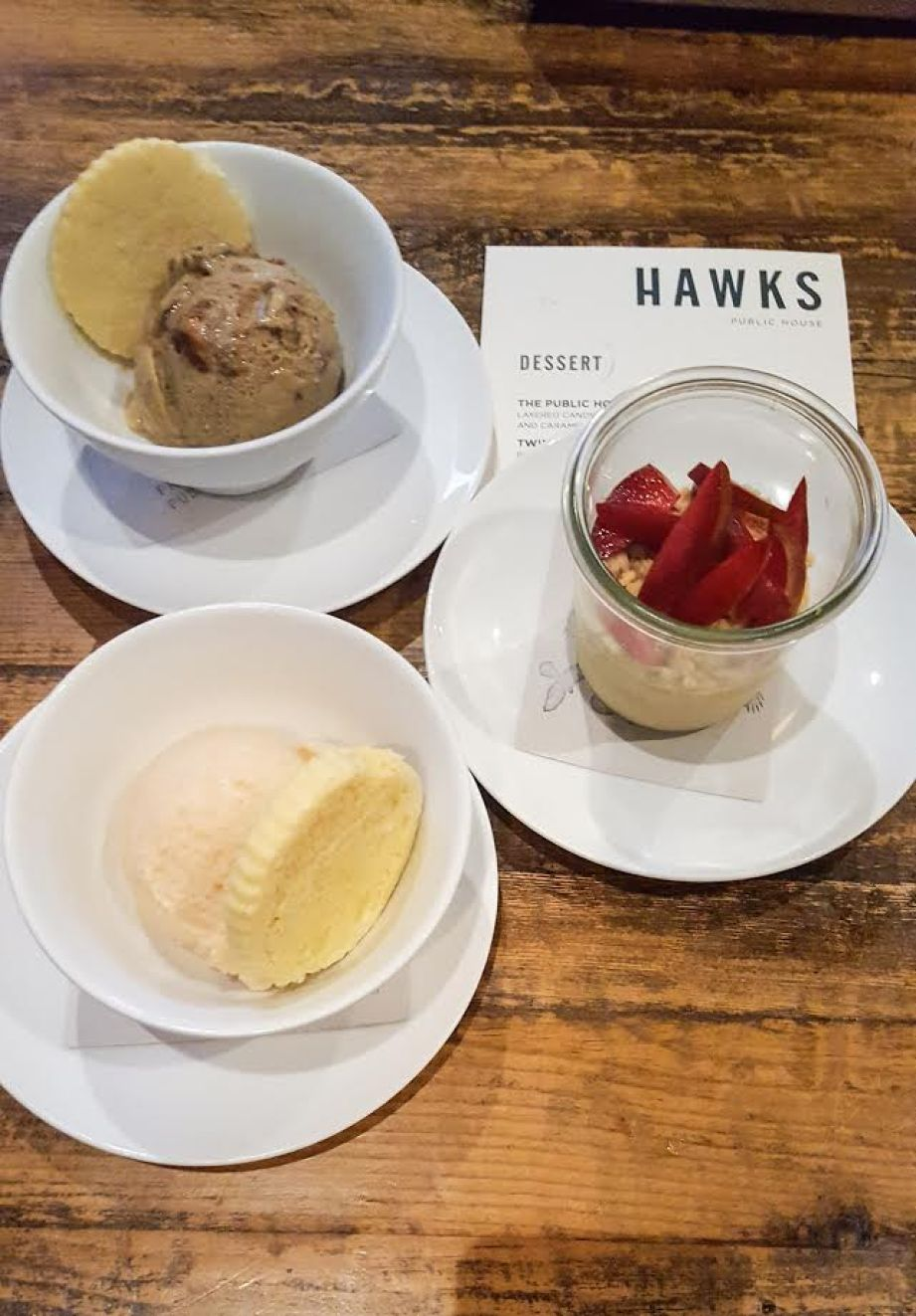 Hawks Dessert