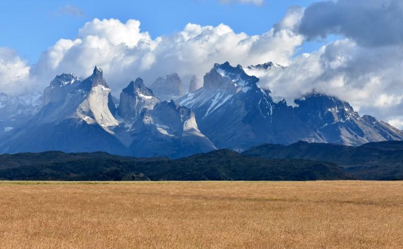Magníficas Montañas de Torres del Paine