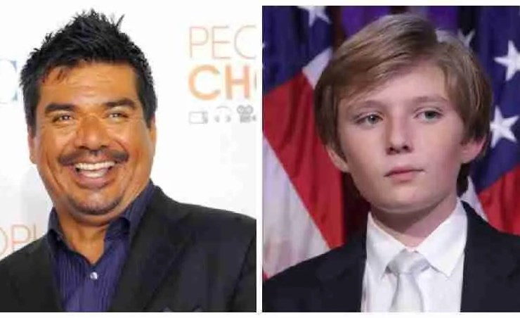 """George Lopez Takes Shots at Barron Trump - """"Anchor Baby"""" 12"""