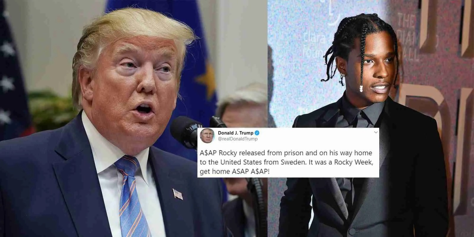 A$AP Rocky Freed? Yes, But Has to Return! 7