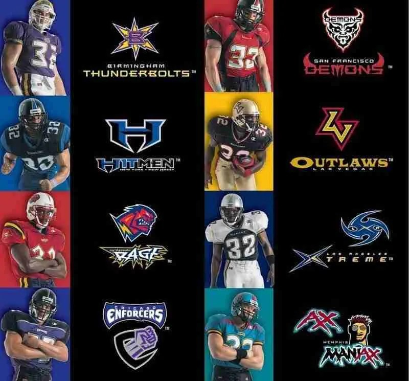 It's Official the XFL has Released the Names & Logos for their New Teams 17