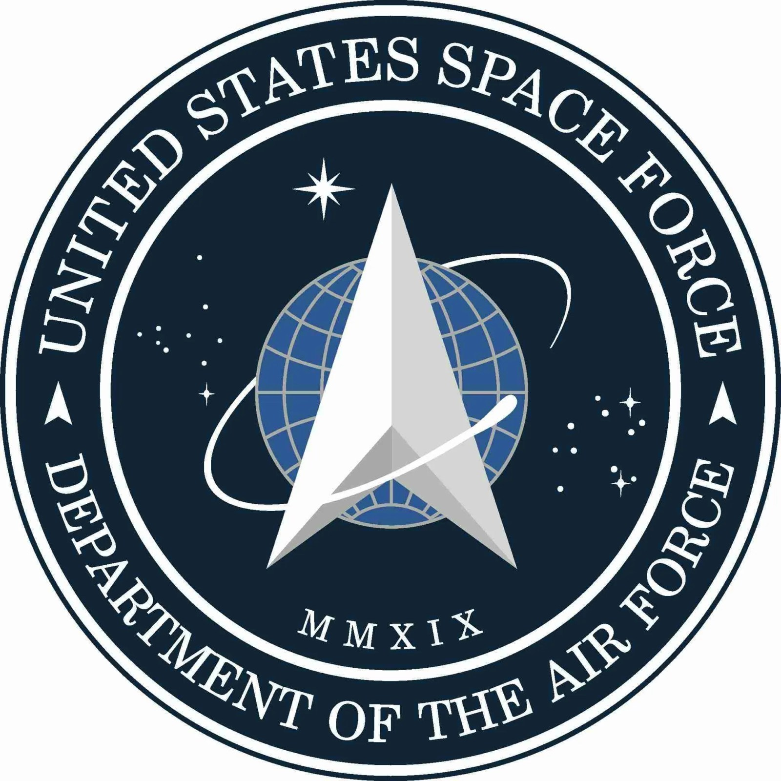 President Trump Unveils New Space Force Logo - Did They Steal from Star Trek? 7