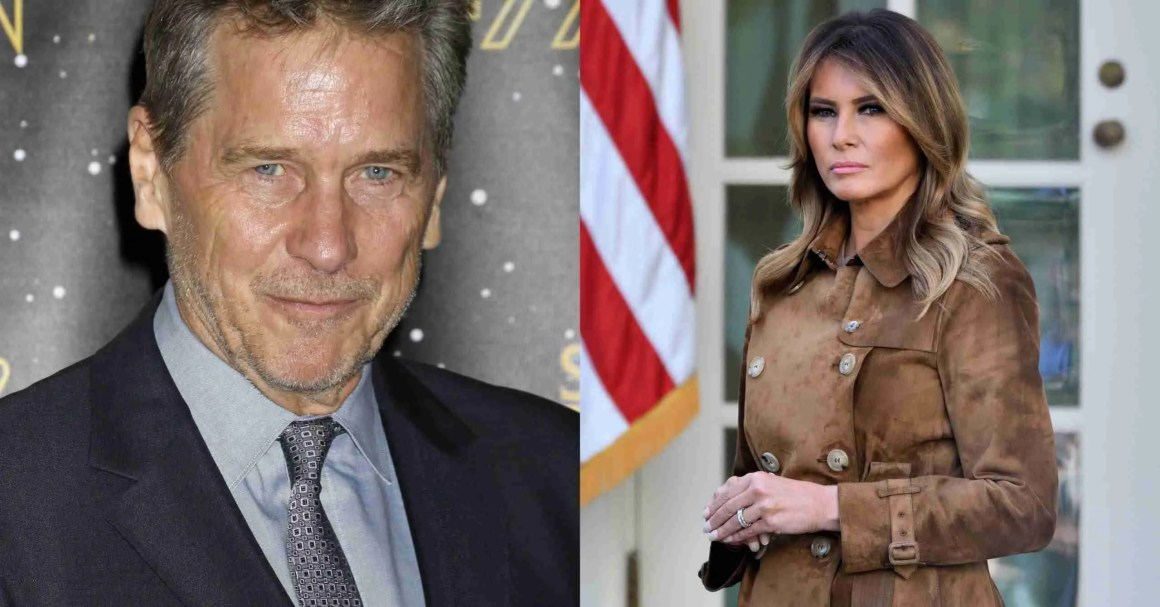 Melania Trump and Tim Matheson