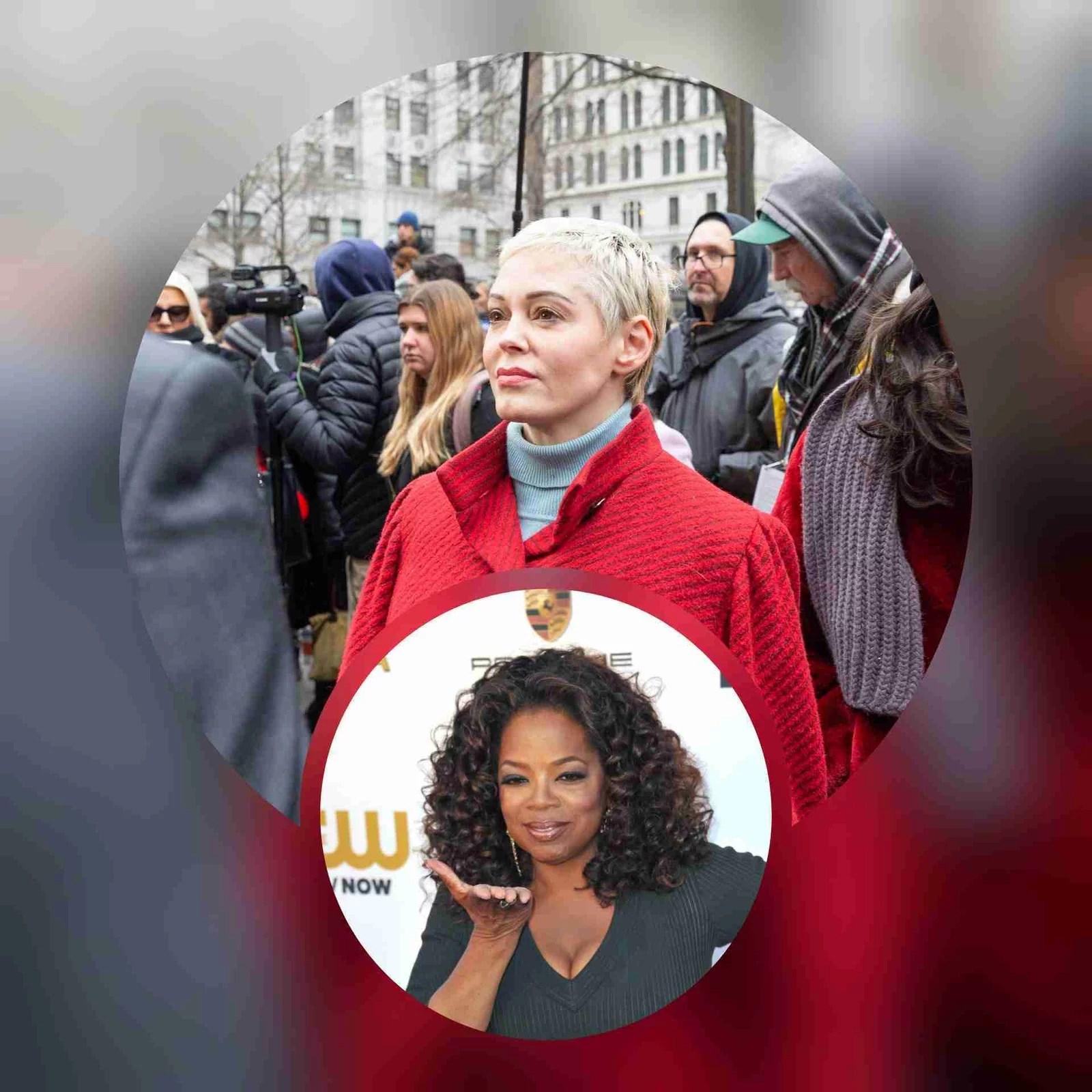 "Rose McGowan Responds To Critics After Slamming Oprah - ""No B*tch, I Drop Bombs"" 7"