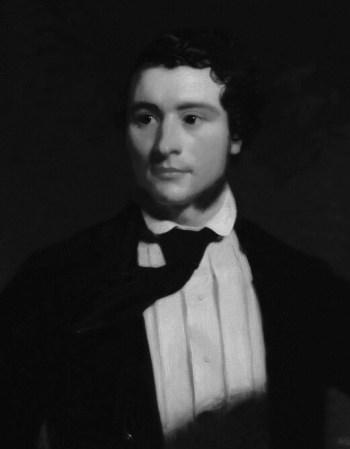 Portrait of Alexander Stewart by Stephen Pearce.