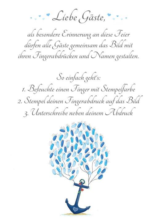 Wedding Tree Anker Anleitung, Wedding tree Vorlage