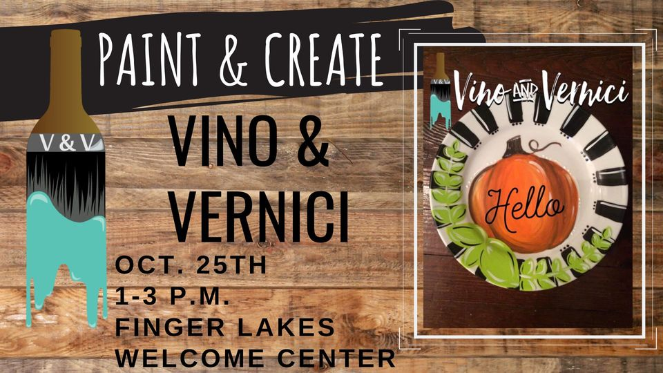 Paint and Sip at Finger Lakes Welcome Center