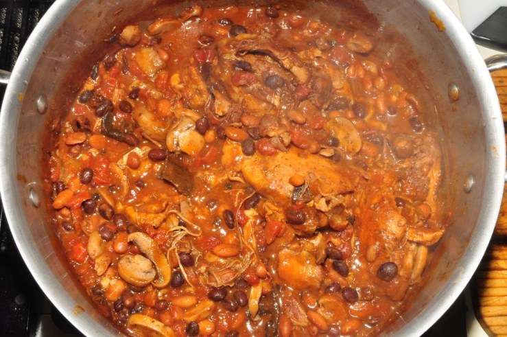 Chicken Chili Casserole