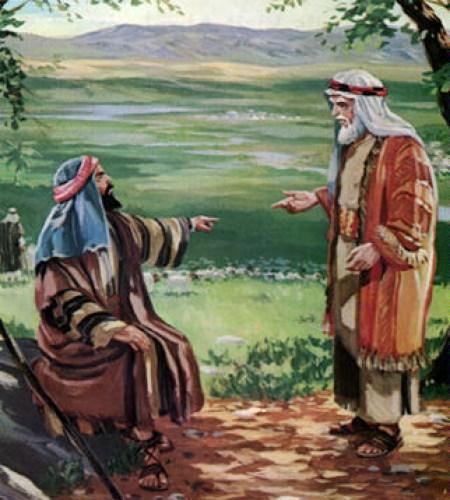 모세 장인의 조언을 듣는 모세