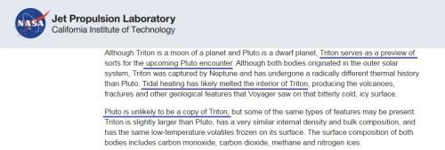 트리톤이 활발한 이유는 조석 가열 때문