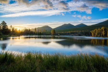 하나님이 창조하신 아름다운 세상 - 호수