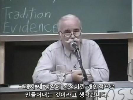Reinhold Schlieter - 3명의 진화론자 vs 켄트 호빈드