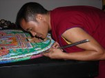 Creative Monk at Work