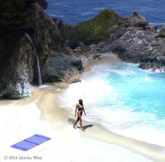 A Stroll on Cove Beach