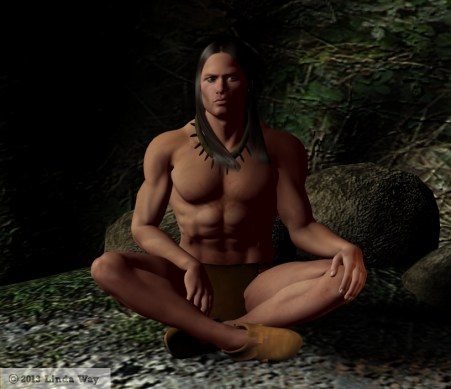 My first Native American character