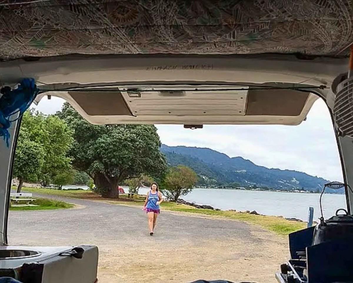 Waiomu Bay Freedom Camping