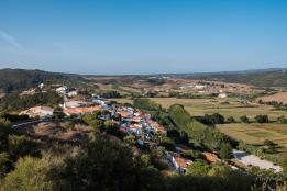 view aljezur town
