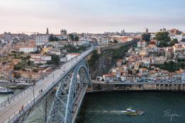 bridge porto boat portugal