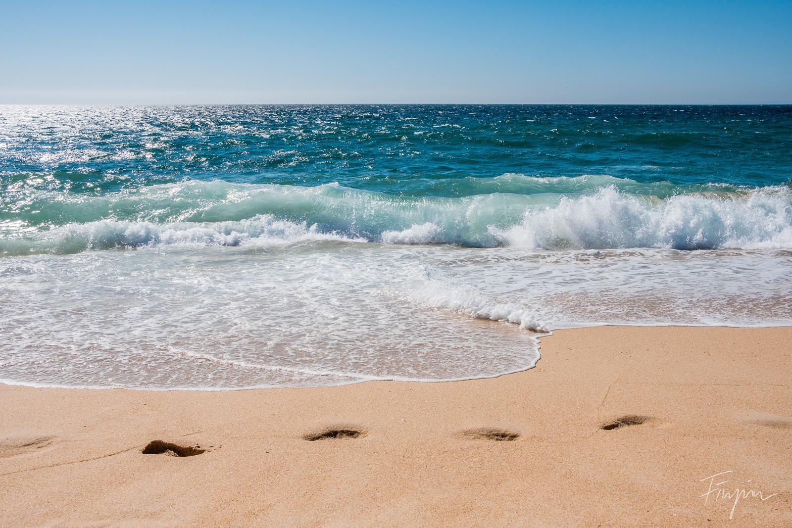 beach portugal waves sun