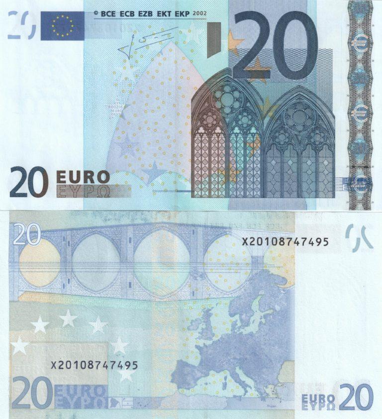 20 euró