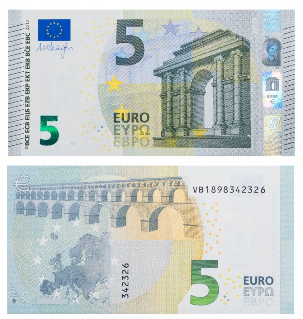 5 euró