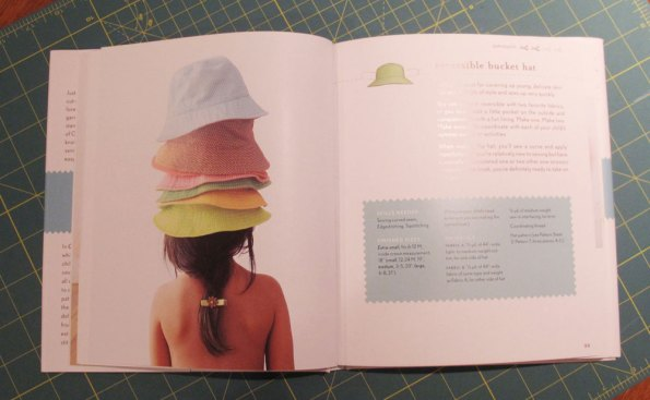 Bucket Hats in Oliver + S Little Things to Sew