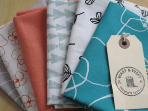 My Lotta Jansdotter fat quarter bundle from Warp & Weft