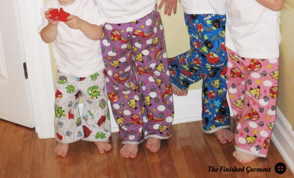Bedtime Story Pajamas sewing pattern by Oliver + S, as sewn by The Finished Garment.
