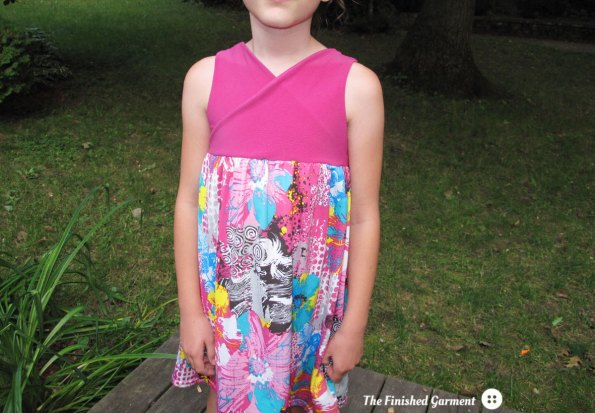 Sugar n' Spice Romper and Dress sewing pattern as sewn by The Finished Garment