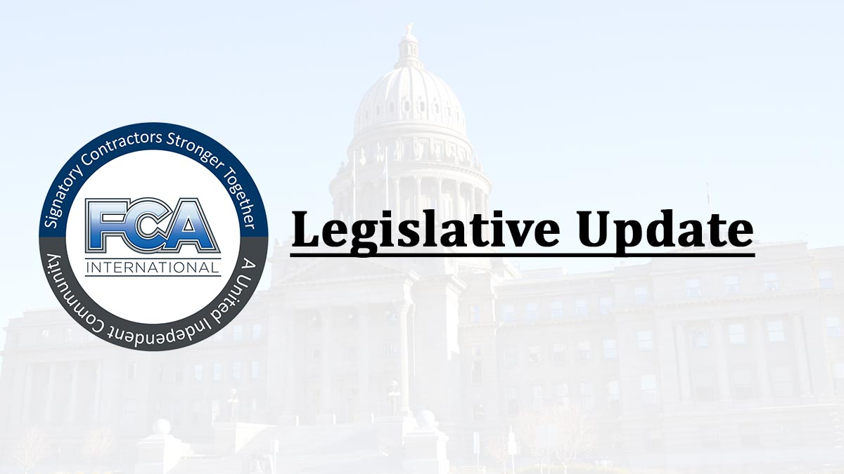 FCA Legislative Update