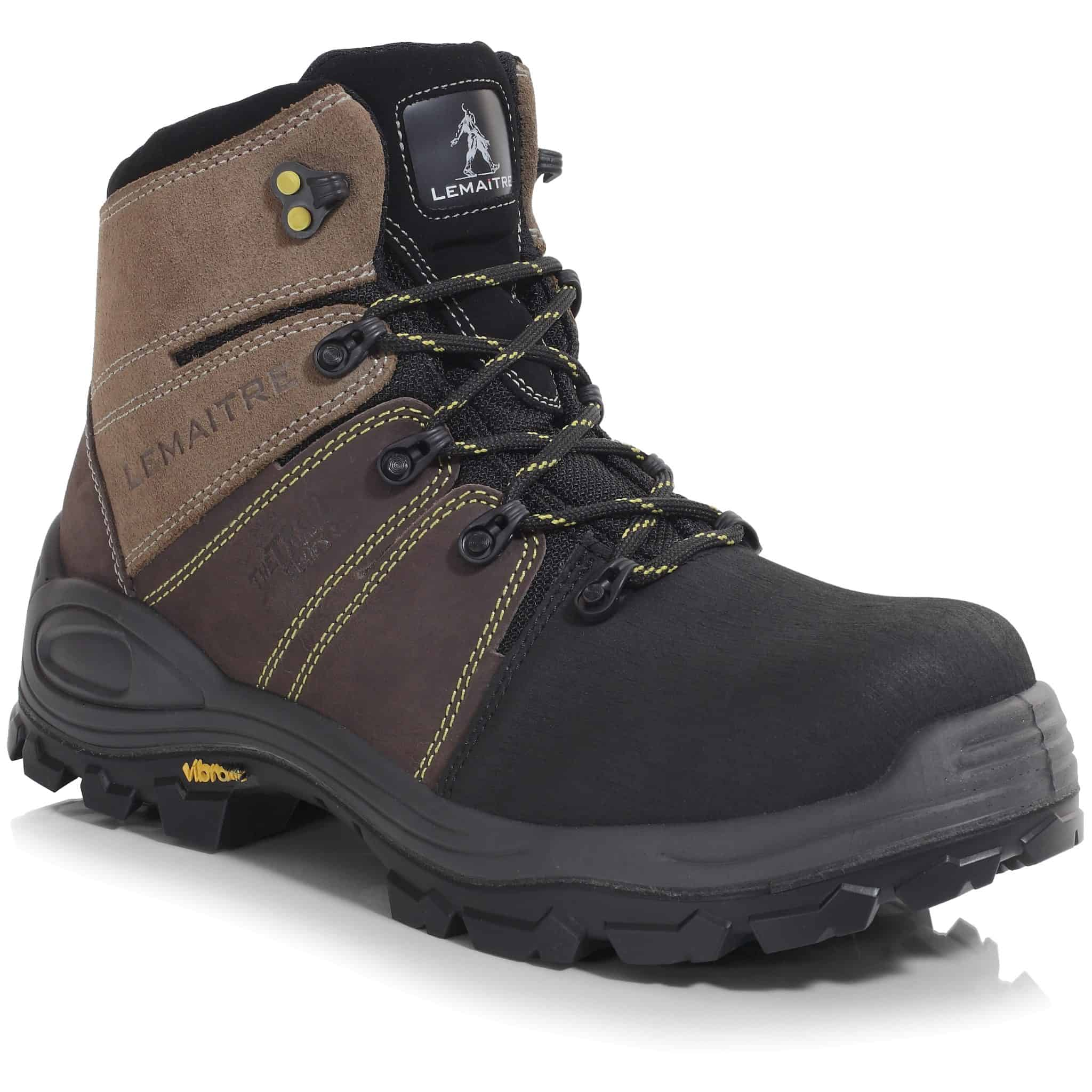 Trek Brun – Lightweight S3 SRC WR PU/Vibram Non-Metal Sympatex Waterproof Safety Hiker Boots