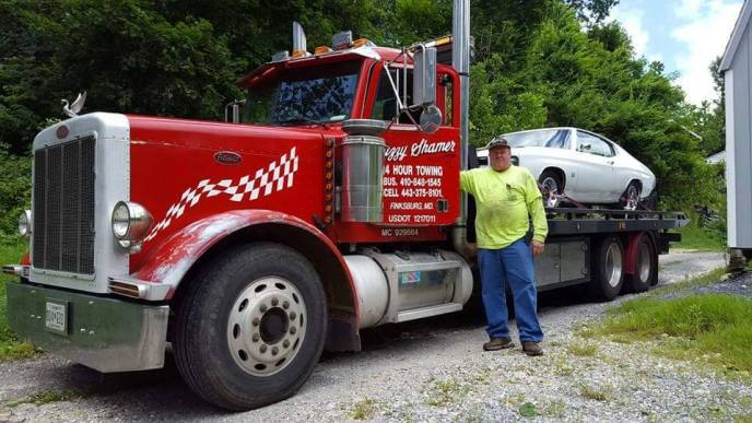 buzzy shamer towing car carroll county