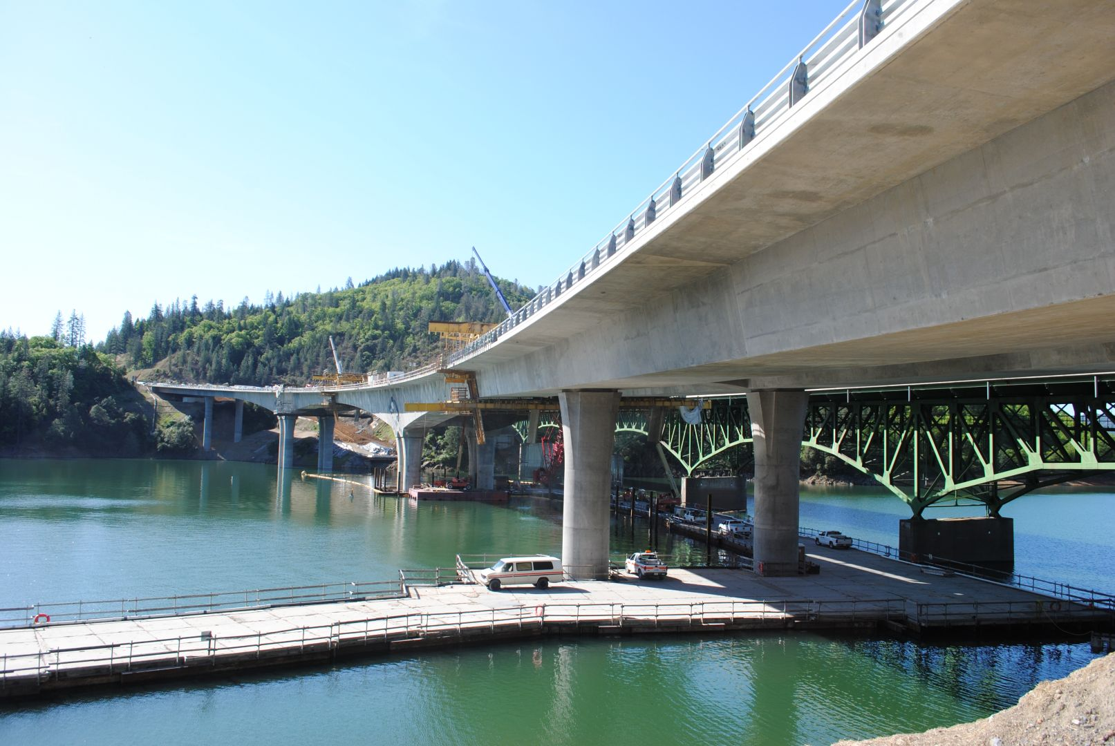 Antlers Bridge Replacement On I 5 Shasta County