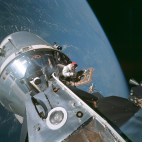 Dave Scott during Apollo 9