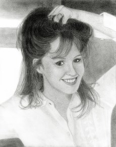 Tracy Griffith; she asked me to create her first web site many years ago