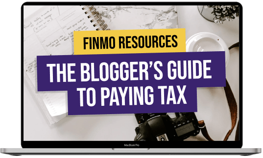 Blogger guide to paying tax