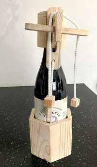 hjernevrider til vinflaske