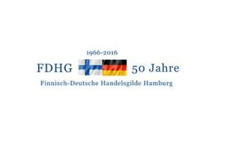 Finnisch-Deutscha Handelsgilde Hamburg Logo